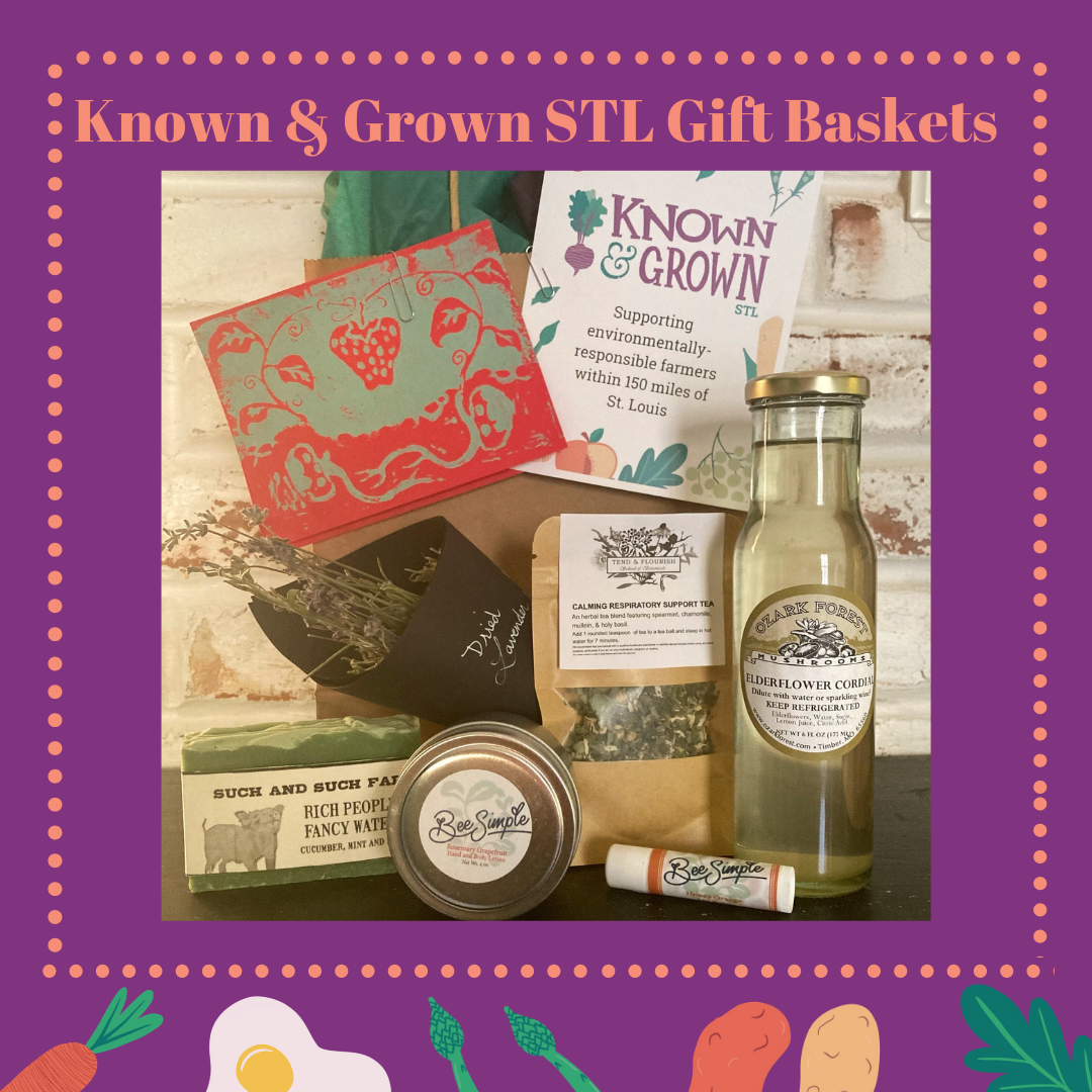 promotion for Known and Grown gift baskets